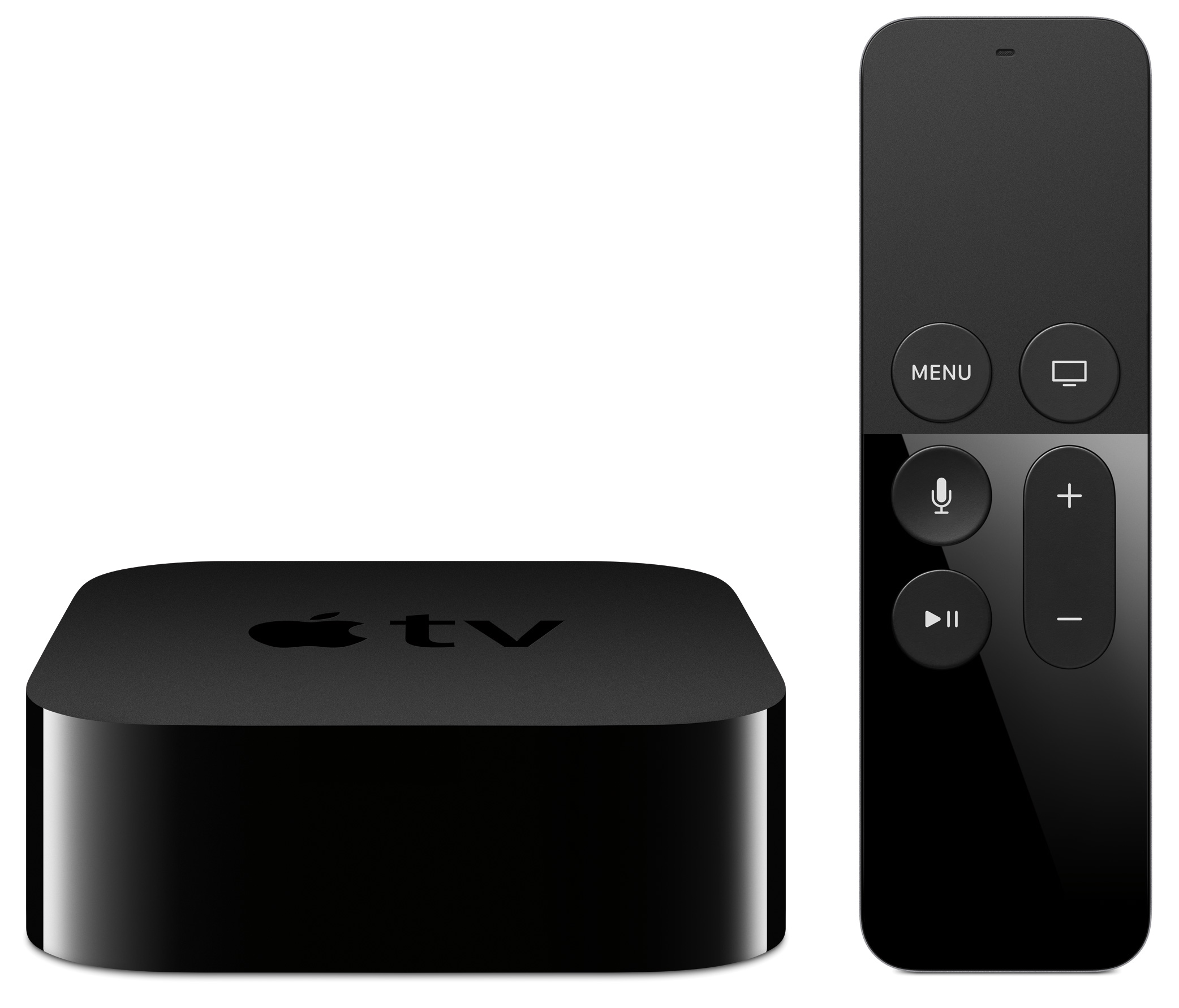 The fourth generation Apple TV