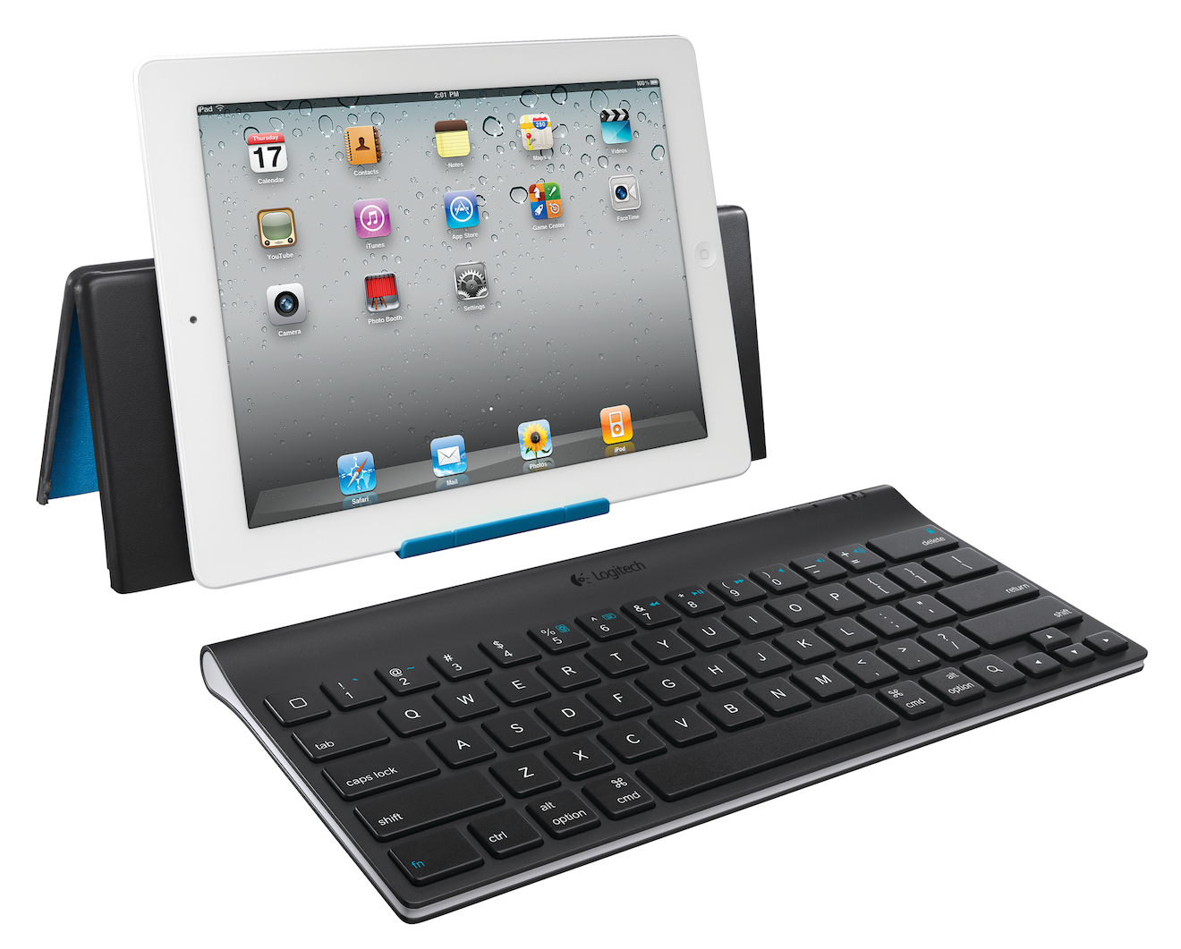 The Logitech Tablet Keyboard for iPad