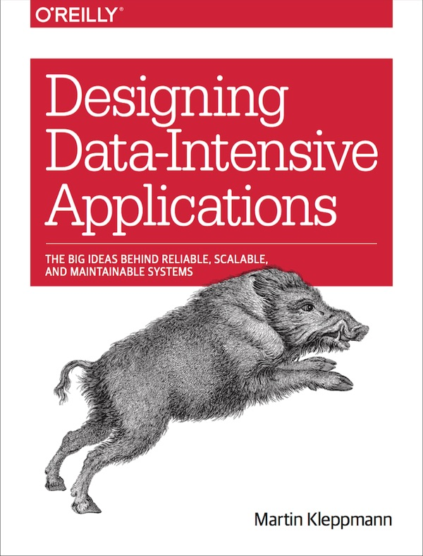 Book cover: Designing Data-Intensive Applications