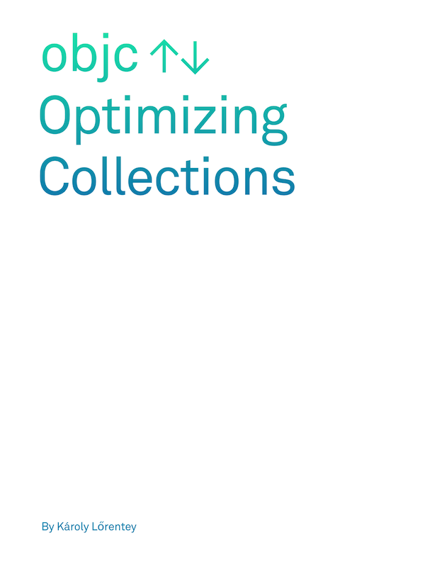 Optimizing Collections Book Cover
