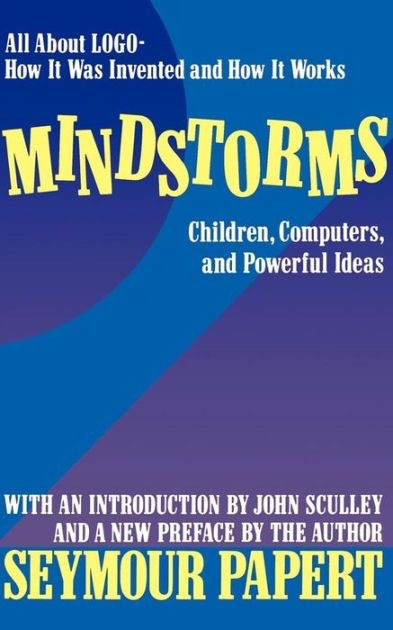 Book cover: Mindstorms  - seymour papert mindstorms - My favorite books 2018 – Ole Begemann