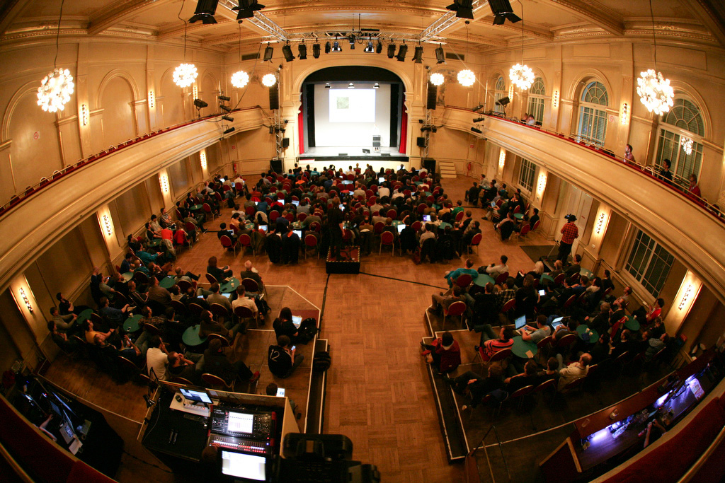 The UIKonf 2014 venue at Heimathafen Neukölln, Berlin