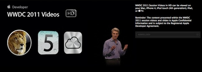 WWDC 2011 Session Videos Teaser